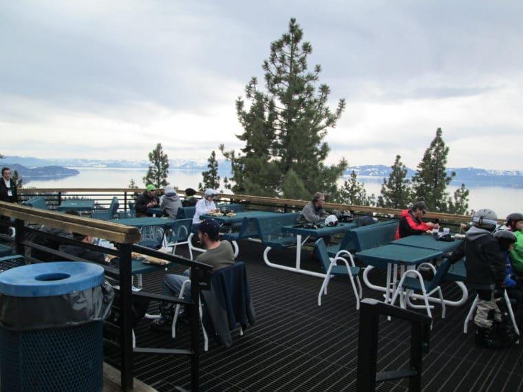 Heavenly Ski resort in Lake Tahoe