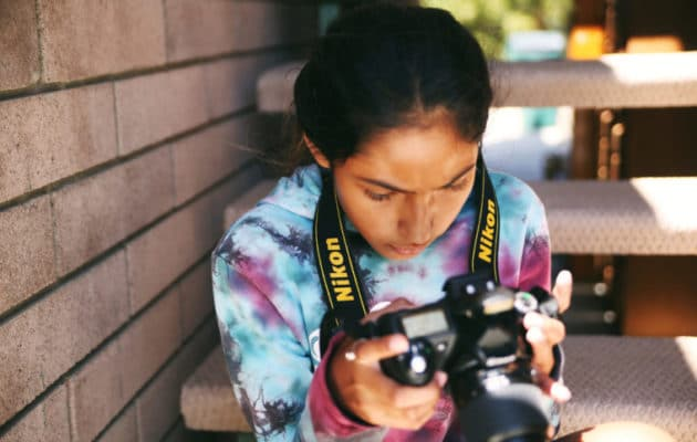 Amplify Sleep Away Camp in Ojai, California teaches girls to play an instrument and put on a show.