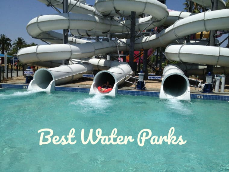 The Best Water Parks in the Los Angeles area