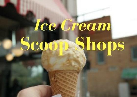 Ice Cream scoop shops in LA