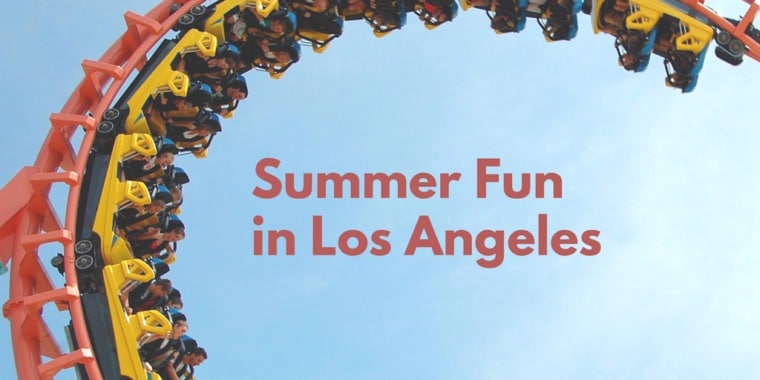 Summer activities for families kids in Los Angeles