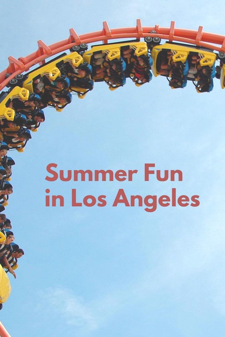 Summer activities events families kids in Los Angeles