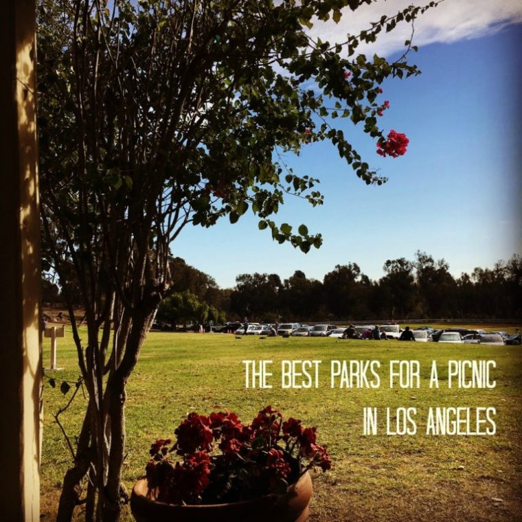 The Best Parks for a picnic in Los Angeles. #Losangeles #visitlosangeles
