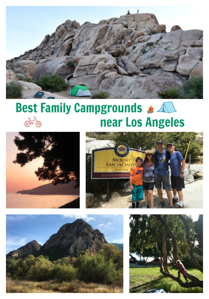 The best family campgrounds near Los Angeles
