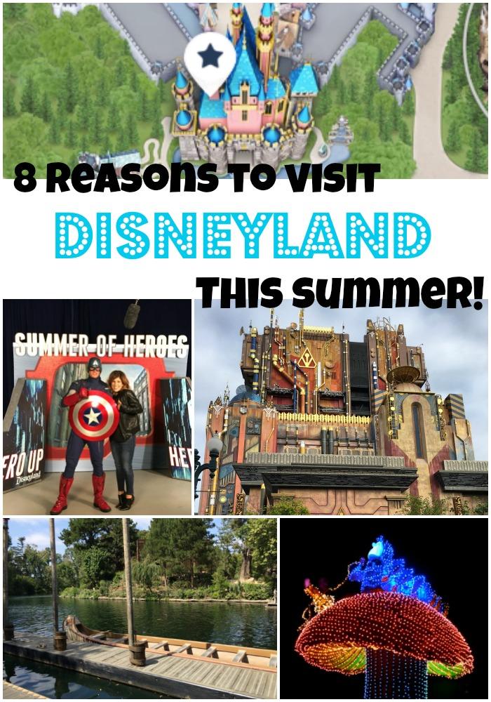 8 Reasons to visit Disneyland this summer