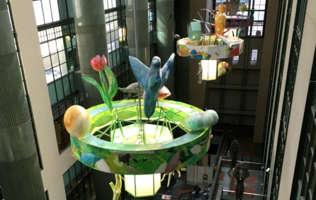 The Downtown LA Library is one of the great library to take kids in Los Angeles