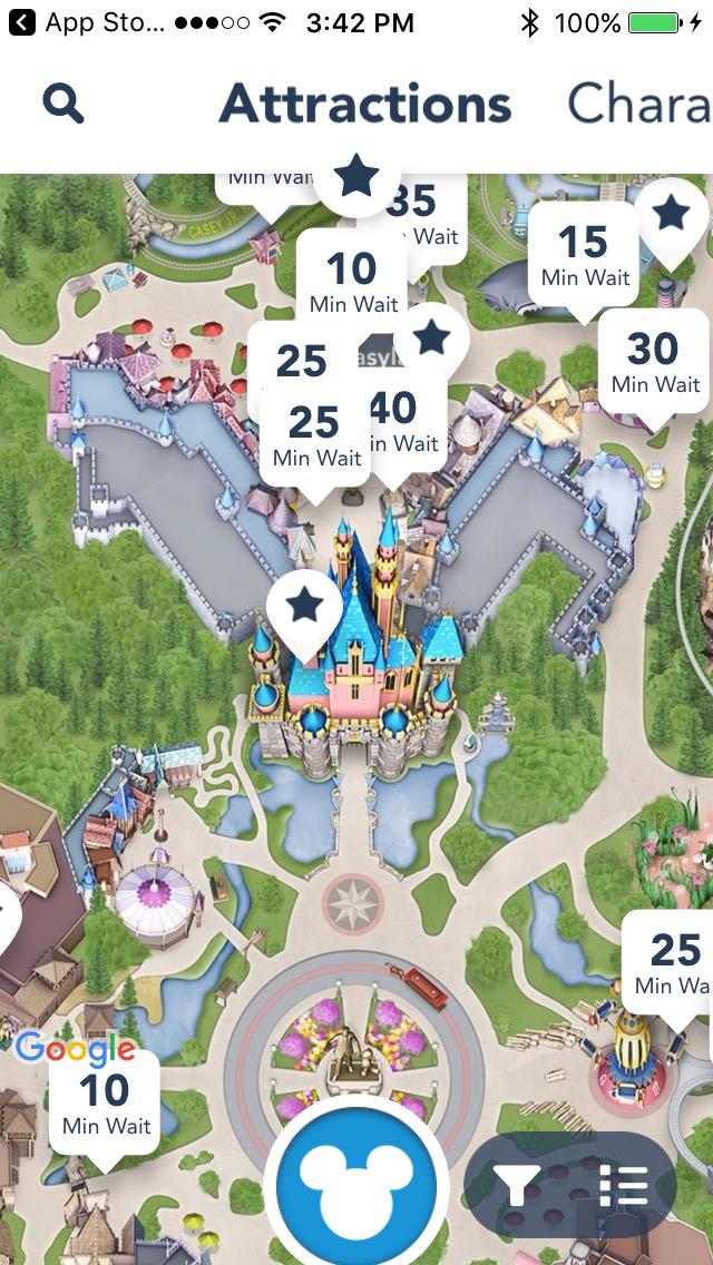 Disneyland Mobile App