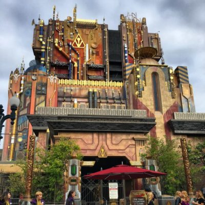 Mission Breakout ride at Disney California Adventure