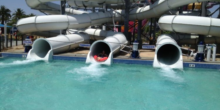 Knott's Berry Farm Soak City is one of the fun water parks to visit in the Los Angeles Area