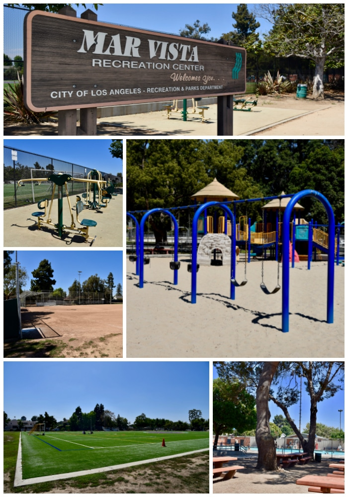 Mar Vista Park in West Los Angeles has many fun options for families