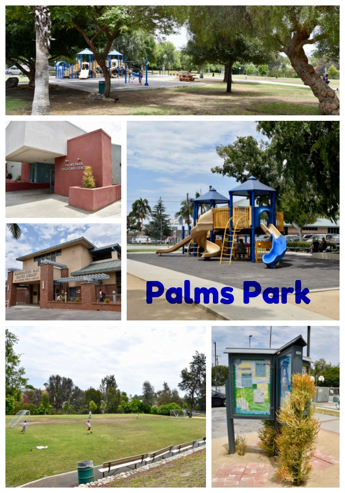Palms Park in West Los Angeles