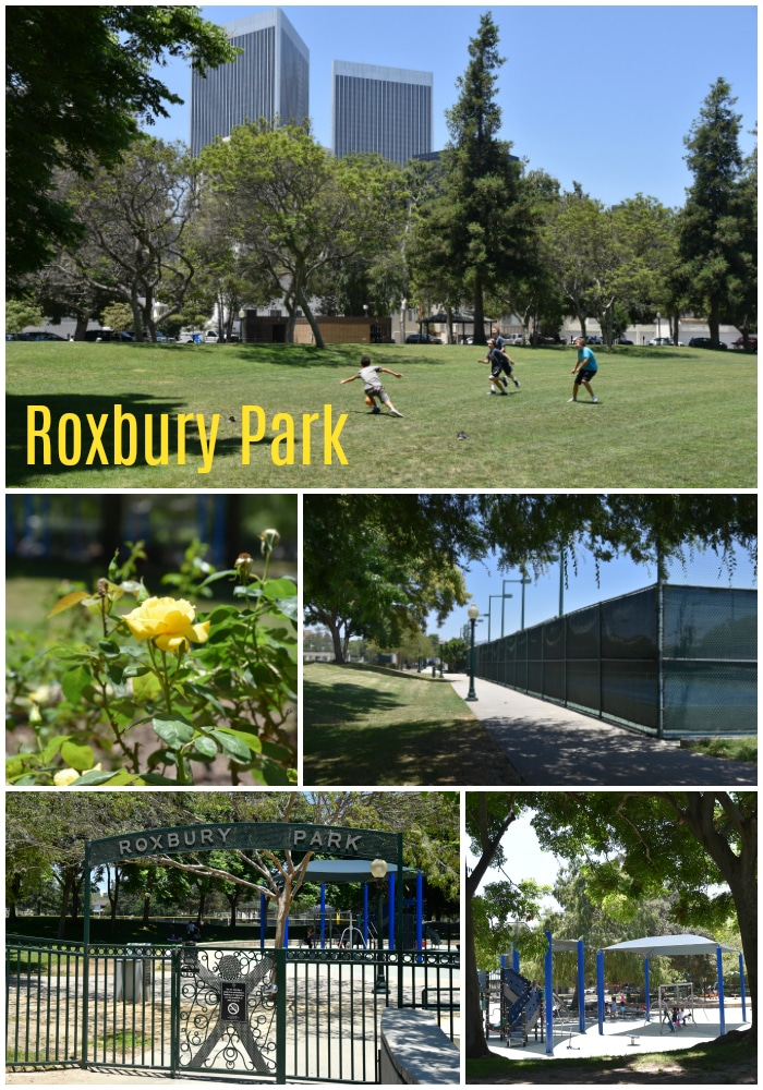 Roxbury Park in Beverly Hills (photo by Yvonne Condes)