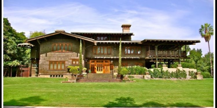 The Gamble House is one of the fun tours for families in Los Angeles