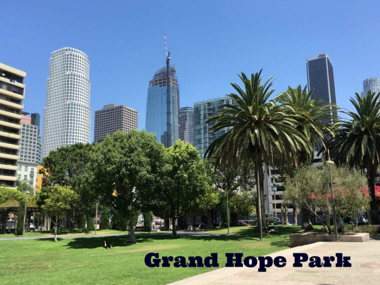 Guide to Grand Hope Park in Downtown Los Angeles
