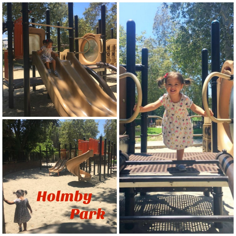 We're exploring Holmby Park in the West Los Angeles neighborhood of Holmby Hills