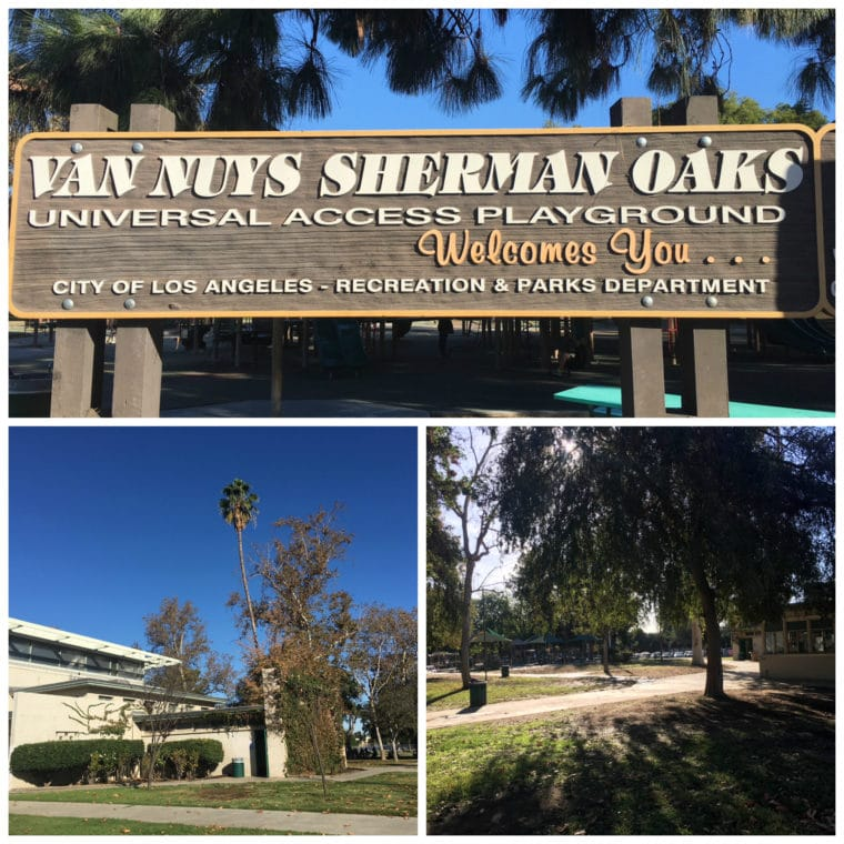 Van Nuys Sherman Oaks Recreation Center is a great park for kids