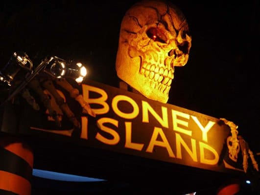 Boney Island is one of the fun haunted houses you'll find in Los Angeles this Halloween Season.