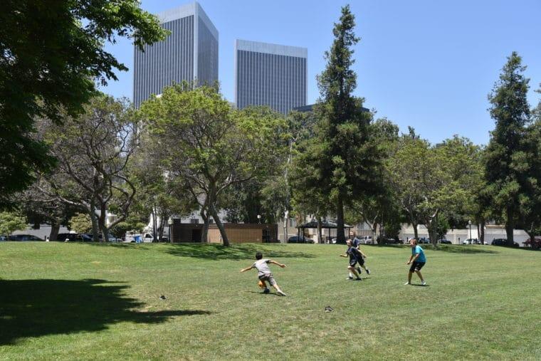 Roxbury Park in Beverly Hills