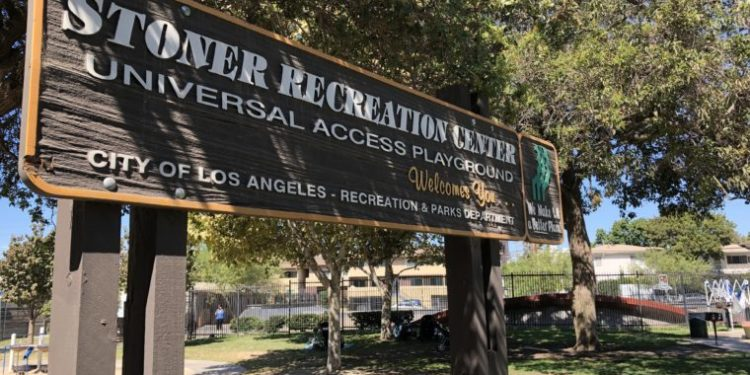 Guide to Stoner Park in West LA (photo by Yvonne Condes)