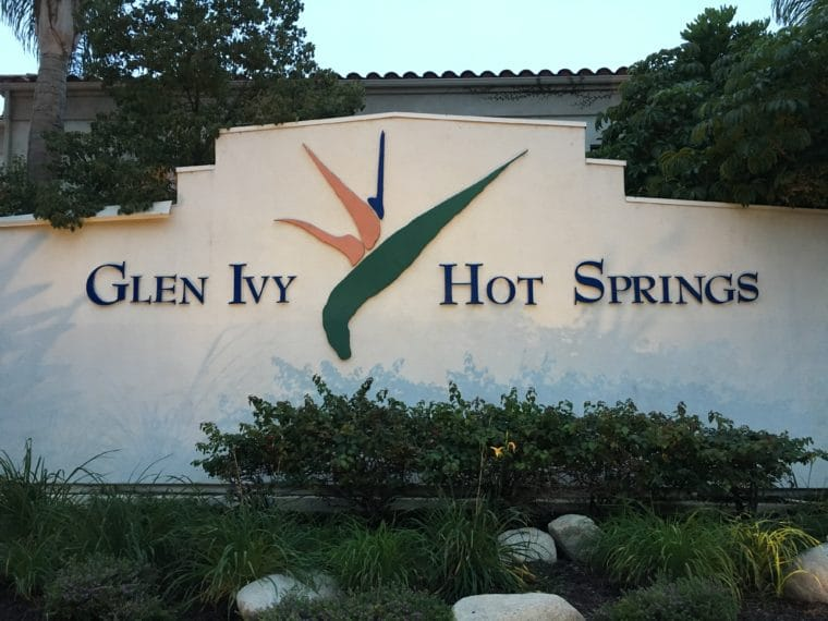 Glen Ivy Hot Springs Entrance