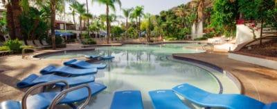 Glen Ivy Hot Springs Lounge pool
