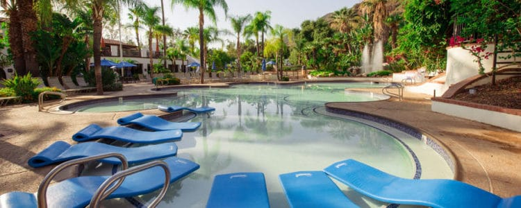 Glen Ivy Hot Springs Lounge pool