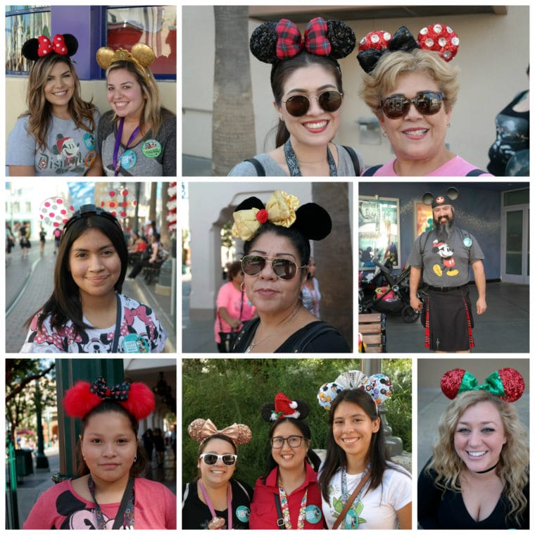 Mickey Mouse Ears Collage