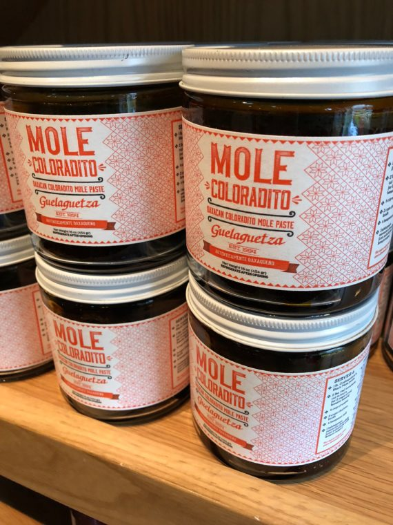 Mole from Guelaguetza in Los Angeles is a wonderful gift for any food lover. #mole #mexicanfood #foodgifts