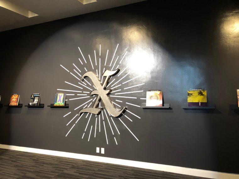 The X exhibit at the Grammy Museum. #losangeles #dtla