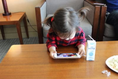 The good and bad of screen time for Toddlers