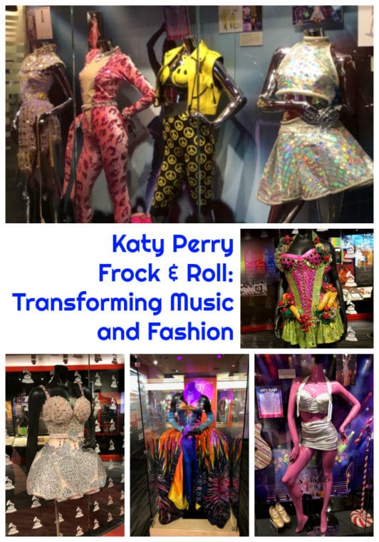 Katy Perry Frock & Roll: Transforming Music and Fasion exhibit at the Grammy Museum. #losangeles #grammymuseum #dtla