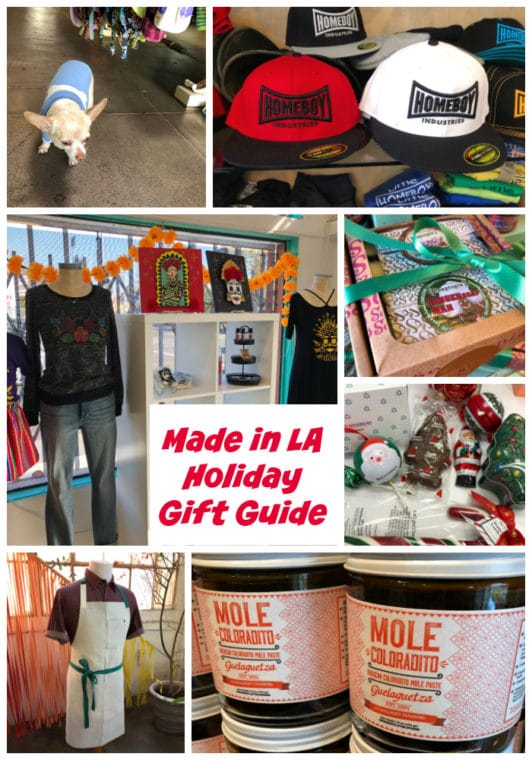 We visited our favorite shops in Los Angeles for our Made In LA Gift Guide. #LosAngeles #HolidayGifts #LosAngelesshopping #Giftsformom