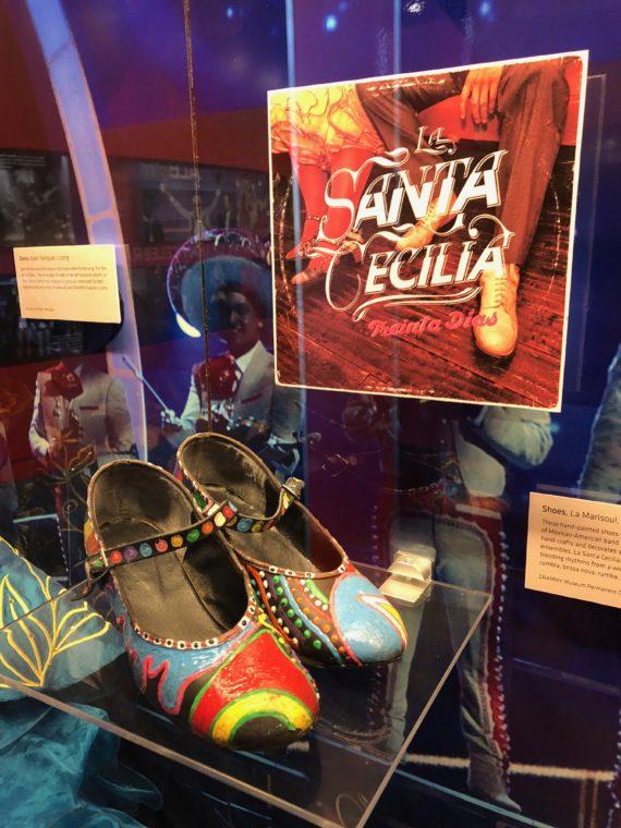 La Santa Cecilia display at the Grammy Museum. #LosAngeles #museum #dtla