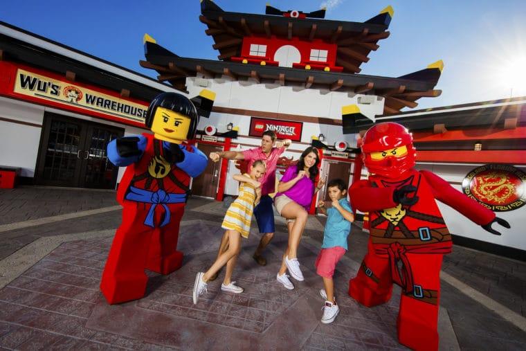 Lego Ninjago at LEGOLAND California. #losangeles #california #californiatravel #legoland #LEGOLANDKidsGoFree #legolandcalifornia #familytravel