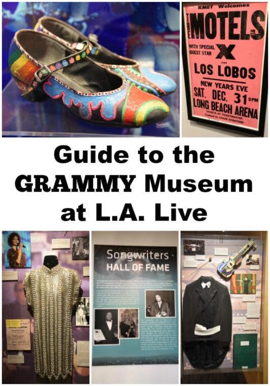 Guide to the Grammy Museum at LA Live. #losangeles #dtla #grammymuseum