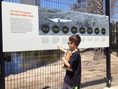 Guide to the La Brea Tar Pits. #LosAngeles #thingstodoinla #thingstodinlosangeles