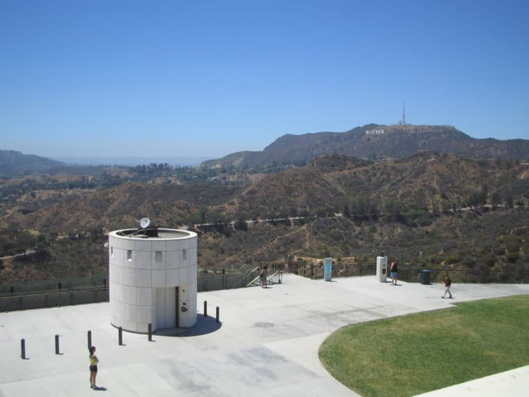 The Griffith Observatory is a great place to visit with or without kids. Check out our guide. #losangeles #griffithobservatory #thingstodoinlosangeles #science #travel #familytravel