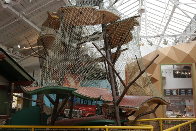 Kidspace Museum Inside Roberts Pavilion.