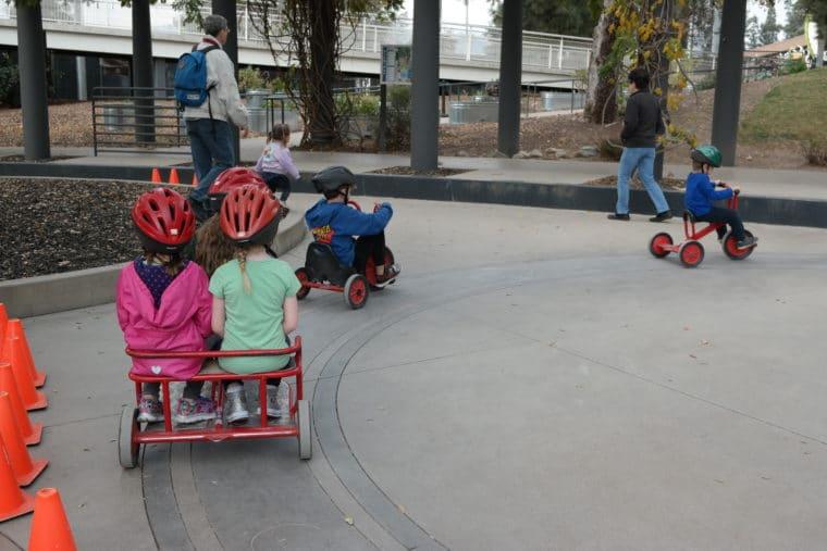 Kidspace Museum Trike Track