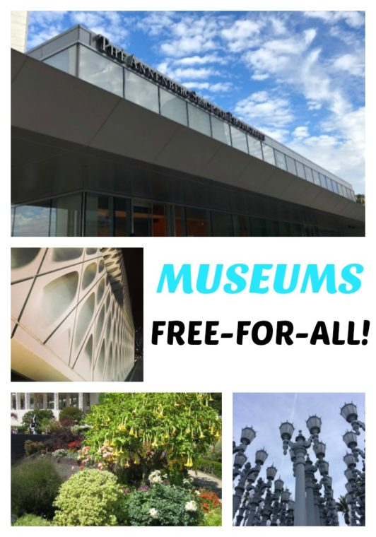 Museums free all day Sunday is one of the fun things to do this weekend in Los Angeles. #LosAngeles #free #freemuseums