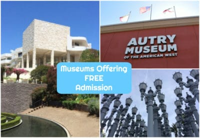 Los Angeles has some of the best museums in the country and some of them offer FREE admission all the time or on certain days of the month. Check out our post with Los Angeles Museums Offering Free Admission and come to LA to visit them all. #losangeles #familytravel @california