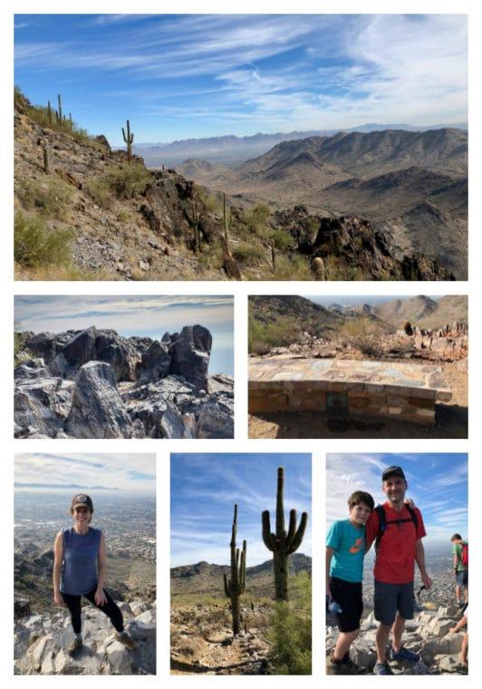 Piestewa Peak Freedom and Piestewa Summit Trails in Phoenix Arizona