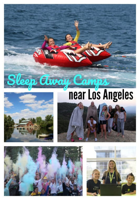 The Best Sleep Away Camps near Los Angeles. #summercamp #losangeles #sleepawaycamp #summer