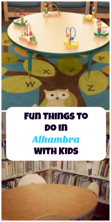Visiting the Alhambra Library is one of the fun things to do there with kids. #losangeles #alhambra #thingstodoinla