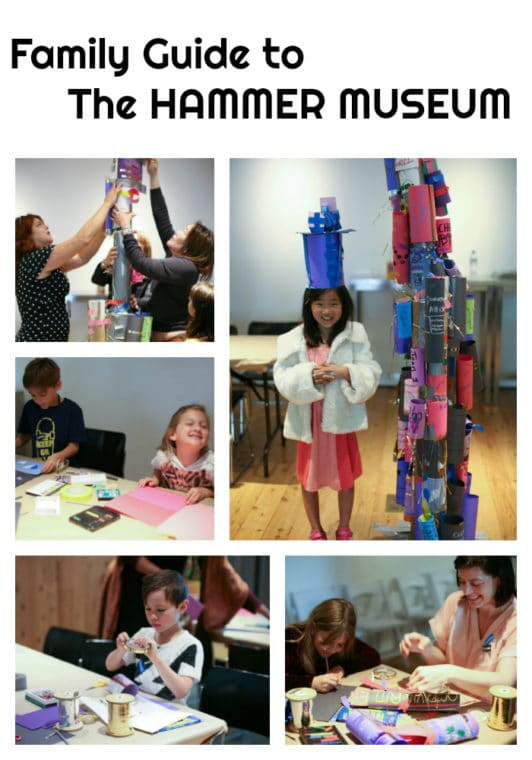 Guide to the Hammer Museum at UCLA in Westwood for Families. #thingstodinla #losangeles #LAmuseums