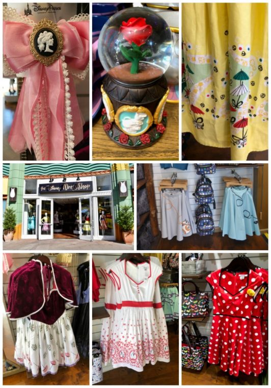 The Disney Dress Shop is one of the new spots at Downtown Disney. #disneyland #disney #downtownDisney