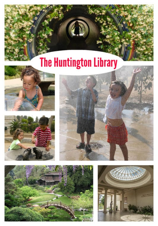 The Huntington Library is a great place to take kids! Find all of the fun things to there in our guide. #losangeles #thingstodinla