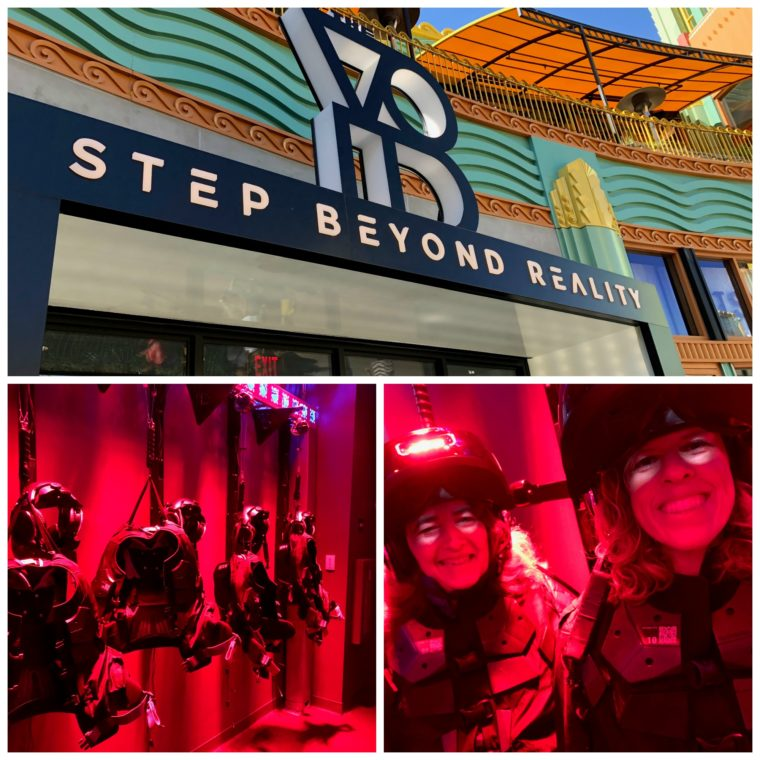 Star Wars: Secrets of the Empire at the Void virtual reality experience at Downtown Disney.