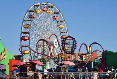 Guide to the Santa Monica Pier. #santamonica #losangeles #thingstodoinla #familytravel #southerncalifornia