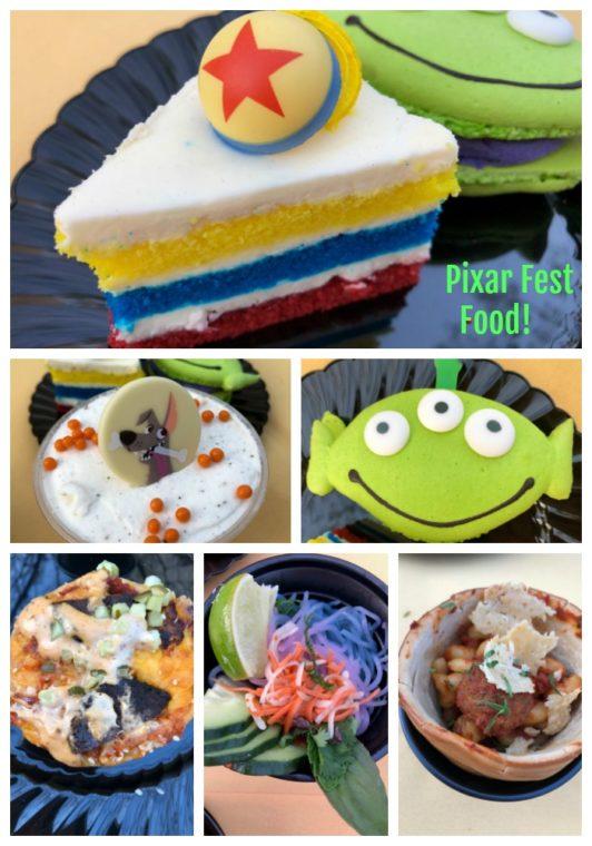 Pixar Fest at Disneyland and California Adventure features amazing Pixar-themed food! #pixar #disneyland #disneyfood